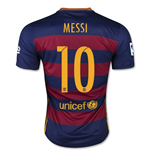 2015-16 Barcelona Home Shirt (Messi 10) - Kids