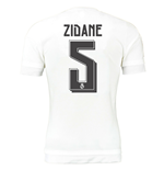 2015-16 Real Madrid Home Shirt (Zidane 5)