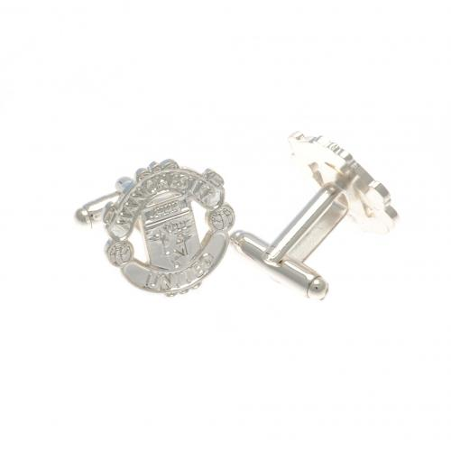 Manchester United F.C. Silver Plated Cufflinks CR