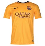 2015-2016 Barcelona Away Nike Football Shirt