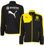 2015-2016 Borussia Dortmund Puma Poly Jacket (Black) - Kids
