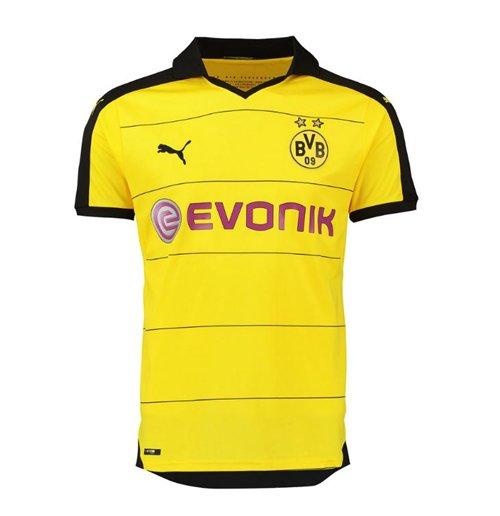 size 40 cc306 db1e4 2015-2016 Borussia Dortmund Puma Home Football Shirt (Big Sizes)