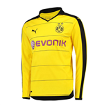 2015-2016 Borussia Dortmund Home Long Sleeve Puma Shirt