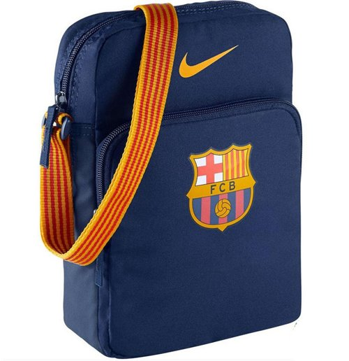 2015-2016 Barcelona Nike Small Items Bag (Navy)