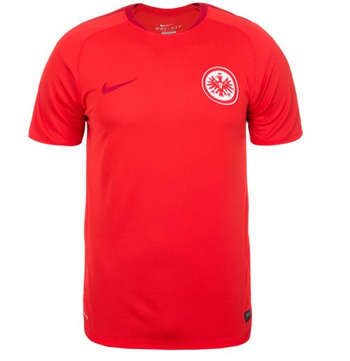 2015 2016 eintracht frankfurt nike training shirt red. Black Bedroom Furniture Sets. Home Design Ideas