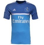 2015-2016 Hamburg Adidas Away Football Shirt