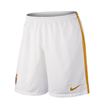 2015-2016 Monaco Nike Home Shorts (White)