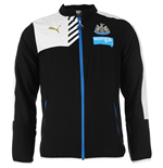 2015-2016 Newcastle Puma Leisure Jacket (Black)