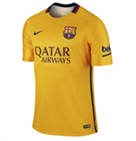 2015-2016 Barcelona Authentic Away Nike Shirt