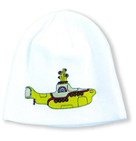 The Beatles Beanie - Yellow Submarine White