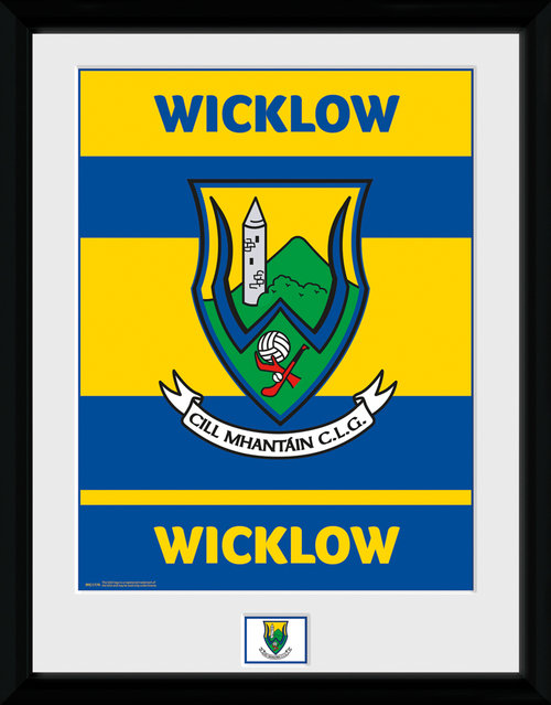 GAA Wicklow Framed Collector Print