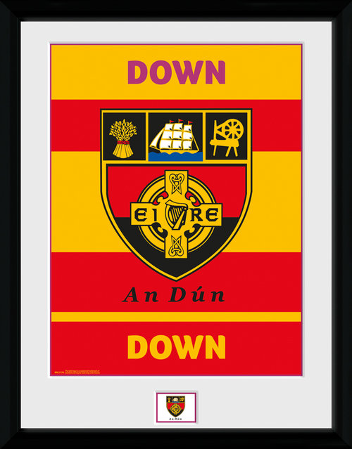 GAA Down Framed Collector Print