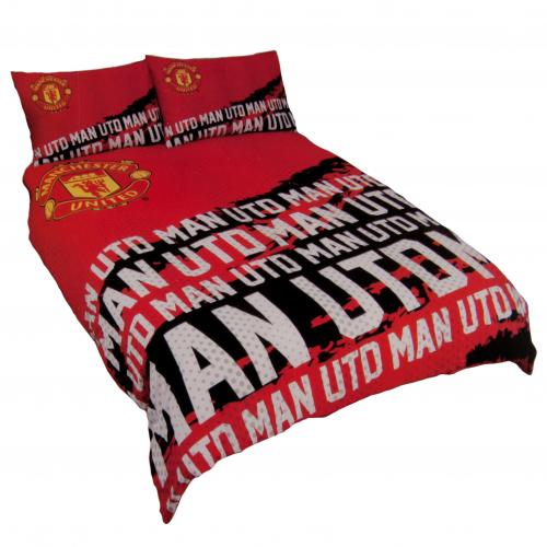 Manchester United F.C. Double Duvet Set IP