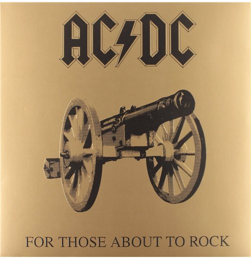 Vynil Ac/Dc - For Those About To Rock