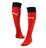 2015-2016 Borussia Dortmund Puma Goalkeeper Socks (Red) - Kids