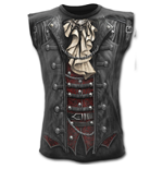 Goth Wrap - Allover Sleeveless T-Shirt Black