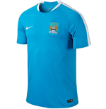 2015-2016 Man City Nike Flash Training Shirt (Blue)