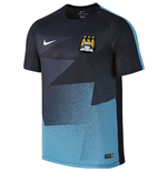 2015-2016 Man City Nike Pre-Match Training Shirt (Obsidian)