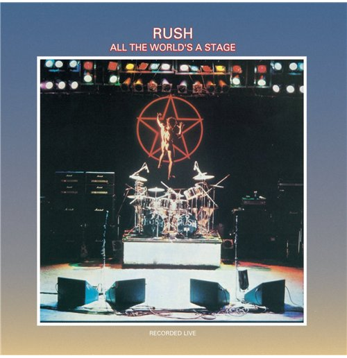 Vynil Rush - All The World's Stage (2 Lp)