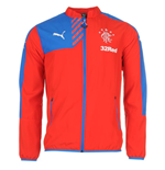 2015-2016 Rangers Puma Leisure Jacket (Red)