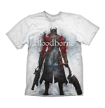 BLOODBORNE Hunter Street T-Shirt, Small, White
