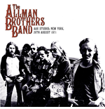 Vynil Allman Brothers Band - A&r Studios - New York 26th August 1971 (2 Lp)