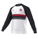 2015-2016 Bayern Munich Adidas Crew Sweat (White)