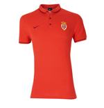 2015-2016 Monaco Nike Authentic League Polo Shirt (Red)