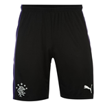 2015-2016 Rangers Third Football Shorts (Black) - Kids