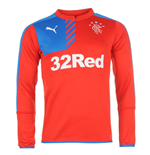 2015-2016 Rangers Puma Sweat Top (Red)