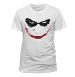 Batman The Dark Knight - Joker Smile Outline T-shirt