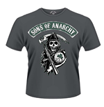 Sons of Anarchy T-shirt - Reaper Shamrock