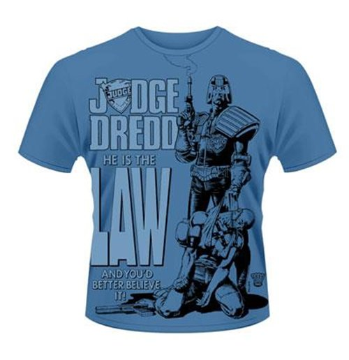 2000AD T-shirt Judge Dredd - He Is The Law