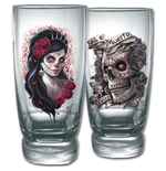 Day Of The Dead - Water Glasses - Set of 2