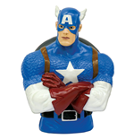 Marvel Comics Coin Bank Captain America 20 cm