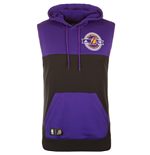 2015 LA Lakers Adidas Sleeveless Hoodie (Purple)