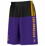 2015 LA Lakers Adidas Summer Run Shorts (Purple)