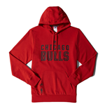 2015 Chicago Bulls Adidas Hoodie (Red)