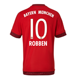 2015-16 Bayern Munich Home Shirt (Robben 10) - Kids