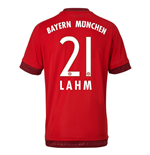 2015-16 Bayern Munich Home Shirt (Lahm 21) - Kids
