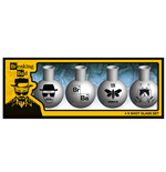Breaking Bad Shotglass 4-Pack