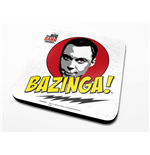 The Big Bang Theory Coaster Bazinga 6-Pack