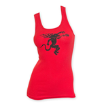 Fireball Cinnamon Whiskey Women's Red Tank Top