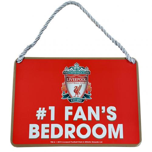 Liverpool F.C. Bedroom Sign No1 Fan