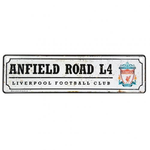 Liverpool F.C. Retro Window Sign
