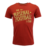 2015-2016 Arsenal Puma Graphic Fan Tee (Red)