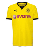 2015-2016 Borussia Dortmund Puma European Home Football Shirt