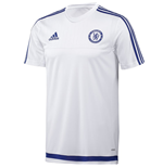 2015-2016 Chelsea Adidas Training Shirt (White) - Kids