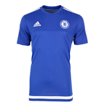 2015-2016 Chelsea Adidas Training Shirt (Blue)