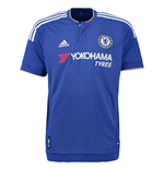 2015-2016 Chelsea Adidas Home Football Shirt